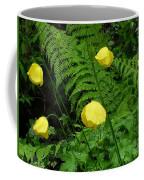 Raindrops On Yellow And Green Coffee Mug