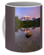 Rainier Dawn Breaking Coffee Mug