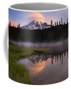 Rainier Lenticular Sunrise Coffee Mug