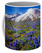 Rainier Lupines Coffee Mug