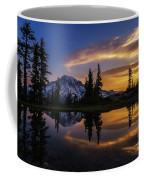 Rainier Sunrise Reflection #2 Coffee Mug