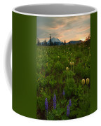 Rainier Wildflower Light Coffee Mug