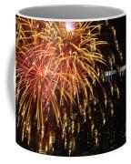 Raining Golden New Year Wishes Coffee Mug