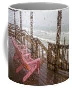 Rainy Beach Evening Coffee Mug