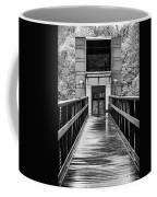 Rainy Day At Crystal Bridges Coffee Mug