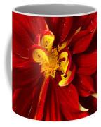 Rainy Day Dahlia Coffee Mug