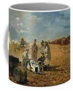 Rainy Day In Camp Coffee Mug