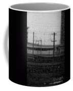 Rainy Day Train Coffee Mug