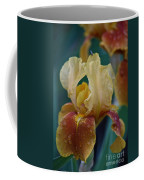 Rainy Iris Coffee Mug