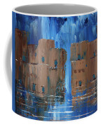Rainy Night At The Pueblo Coffee Mug