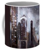 Rainy Night Downtown Coffee Mug