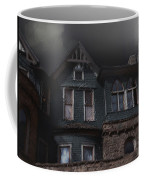 Rainy Night House Coffee Mug