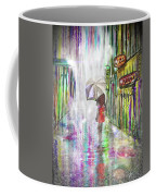 Rainy Paris Day Coffee Mug by Darren Cannell