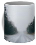 Rainy Road Coffee Mug