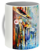 Rainy Stroll Coffee Mug