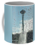 Rainy Window Needle Coffee Mug