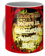 Raise My Hand Coffee Mug