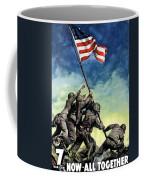 Raising The Flag On Iwo Jima Coffee Mug