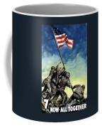 Raising The Flag On Iwo Jima Coffee Mug