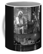 Rajasthan Collage Bw Coffee Mug