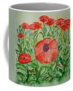 Ramonas Poppies Coffee Mug