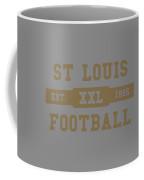 Rams Retro Shirt Coffee Mug