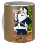 Rams Santa Claus Coffee Mug