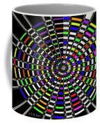 Random Color Oval Abstract Coffee Mug