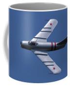 Randy Ball's Mig-17f Banking Left Coffee Mug