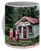 Rankins Grocery In Watercolor Coffee Mug