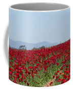 Ranunculus Red Coffee Mug