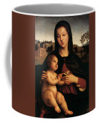 Raphael Madonna And Child C Coffee Mug