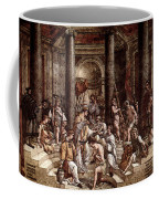 Raphael The Baptism Of Constantine Coffee Mug