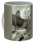 Rapids During Spring Flow On The South Platte River Coffee Mug