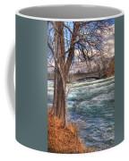 Rapids In Fall Coffee Mug
