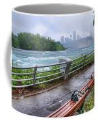 Rapids In The Rain Coffee Mug