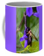 Rappelling Down A Flower Coffee Mug