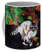 Rascally Raccoon Coffee Mug by Will Borden