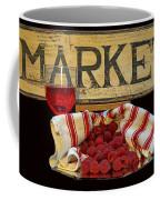 Raspberries At The Market Coffee Mug