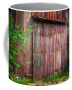 Rats Castle Farm Barn Door Coffee Mug