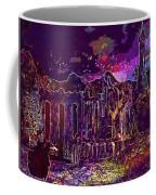 Raven Castle Ruin Trees Sky  Coffee Mug