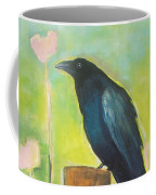 Raven In The Garden Coffee Mug