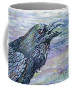 Raven Study 4 Coffee Mug
