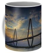 Ravenel Bridge Sunset Coffee Mug