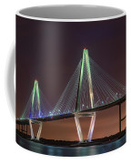Ravenel Bridge Twilight Coffee Mug