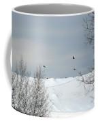 Ravens On The Prowl Coffee Mug