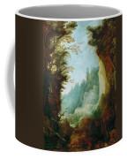 Ravine Between Rocks Coffee Mug
