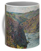 Ravines Of The Creuse At The End Of The Day Coffee Mug