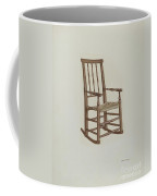Raw Hide Bottom Rocker Coffee Mug