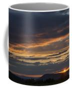 Rays At Sunset Coffee Mug